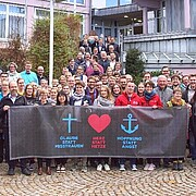 Gruppenbild der aej Mitgliederversammlung