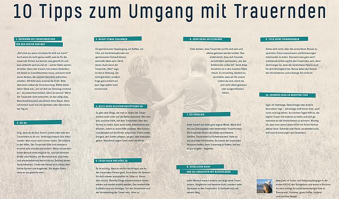 10 Tipps für den Umgang mit Trauernden (HERRLICH 02/2019) Vorschaubild