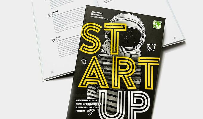 StartUP Buch Quadrat