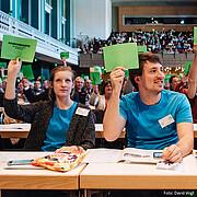 Junge Menschen auf der Bundesratstagung