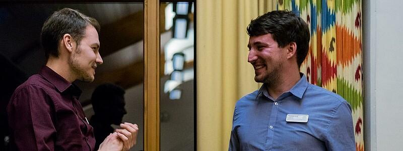 Marten Becker verabschiedet Tobi Köpke aus dem Bundesvorstand