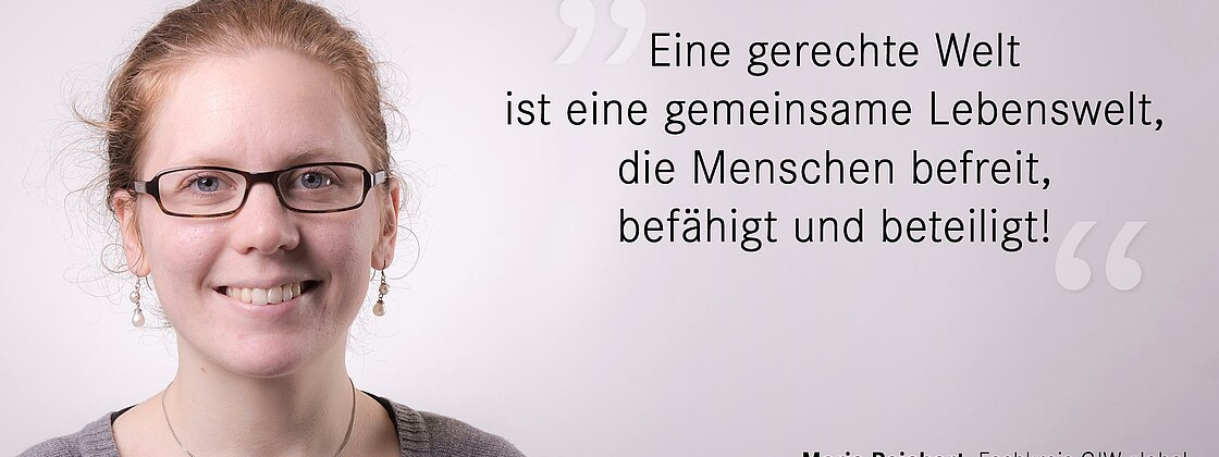 Marie Reichert Sozialwort