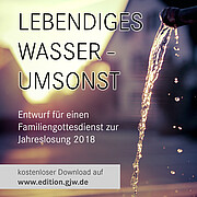 Coverbild zum Familiengottesdienst zur Jahreslosung 2018